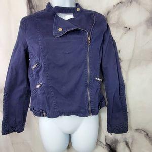 Willow and clay navy jacket size medium
